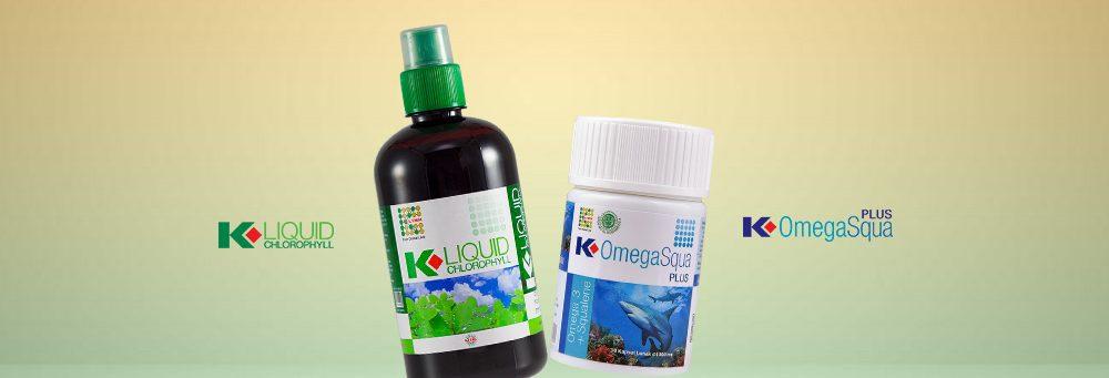 K-Liquid Chlorophyll DAN K-OMEGASQUA PLUS
