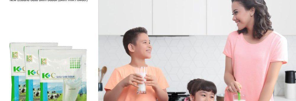 K-C susu skim bubuk hanya susu sehat untukku 2