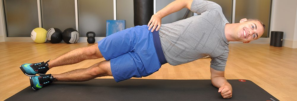 side plank olahraga