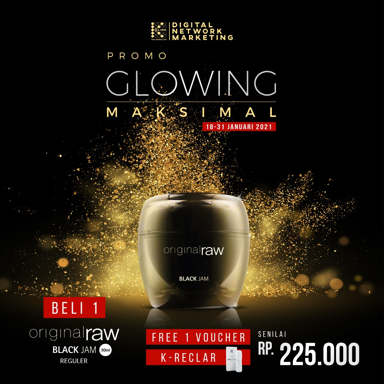 Promo Glowing Maksimal 18-31 Januari