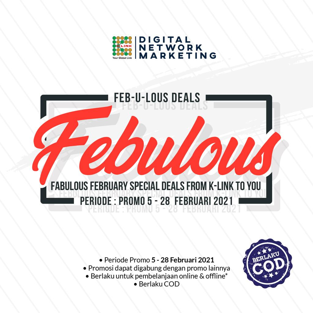 Promo Febulous 15-28 Feb