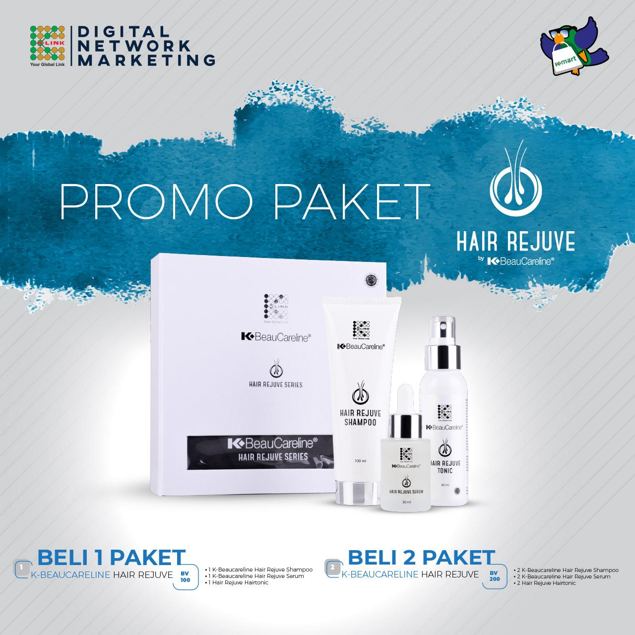 Promo Paket Hair Rejuve